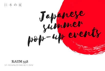 Flyer, Japanes Summer POP-UP Events