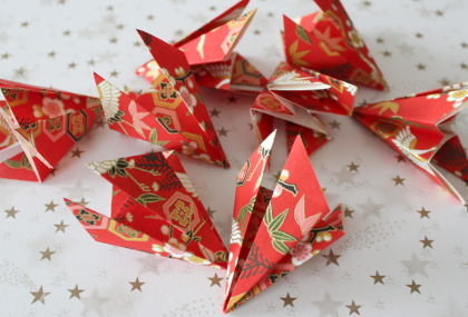 Weihnachtsdeko aus origami anleitungen und ideen - Origami weihnachtsdeko ...